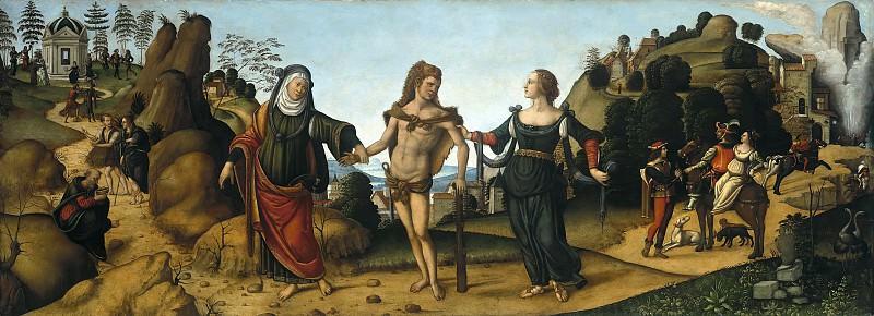 Niccolo Soggi (c.1480-1552) - Hercules at the Crossroads. Part 4
