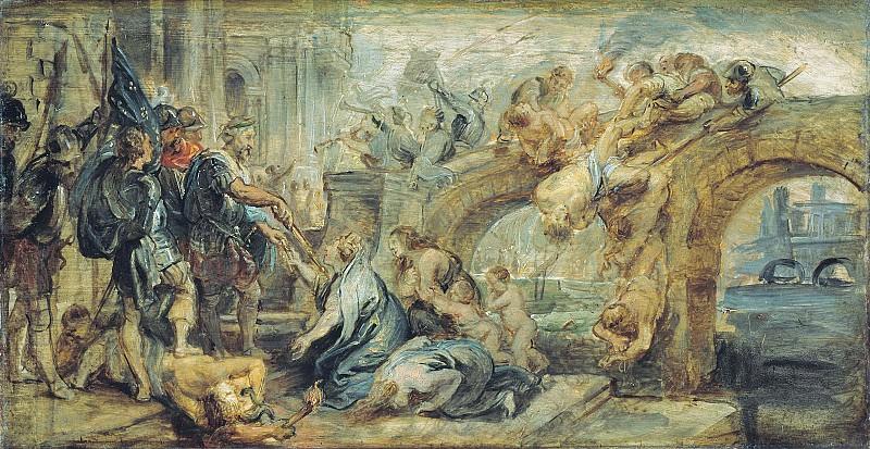 Peter Paul Rubens (1577-1640) - Taking Paris. Part 4