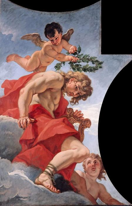 Sebastiano Ricci (1659-1734) - The Olympian gods - Apollo. Part 4