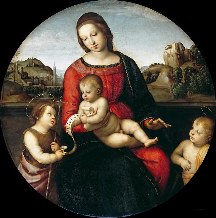 Raffael (1483-1520) - Madonna Terranuova. Part 4