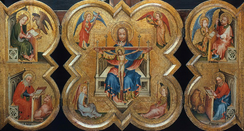 Netherlands - Triptych with the Holy Trinity. Part 4