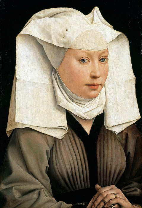 Rogier van der Weyden (1400-1464) - Portrait of a Woman. Part 4