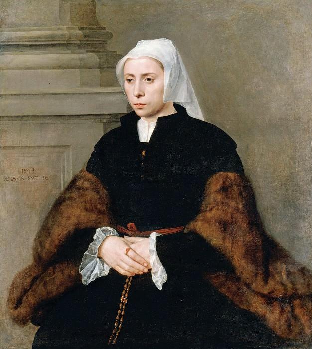 Кей, Виллем Адрианс (1515-16-1568) - Портрет молодой женщины. Часть 4