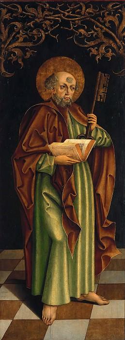 Тирольский мастер - Святой Петр с ключом и книгой. Часть 4