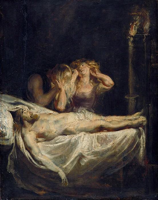 Rubens (1577-1640) - The Lamentation. Part 4