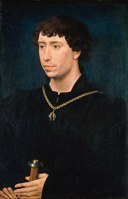 Rogier van der Weyden (workshop) - Charles the Bold, Duke of Burgundy. Part 4
