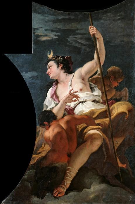 Sebastiano Ricci (1659-1734) - The Olympian gods - Diana. Part 4