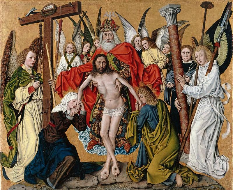 Зальцбургский мастер - Святая Троица как искупительная благодать свыше. Часть 4
