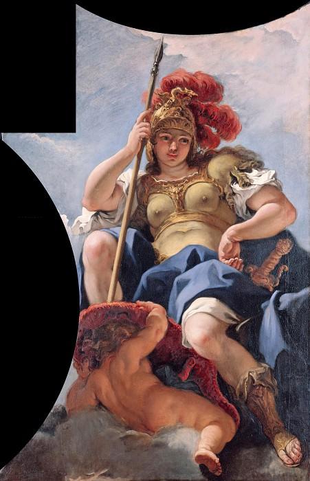 Sebastiano Ricci (1659-1734) - The Olympian gods - Minerva. Part 4