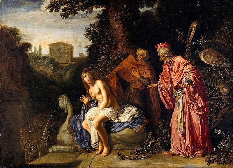 Pieter Lastman (1583-1633) - Susanna and the Elders. Part 4