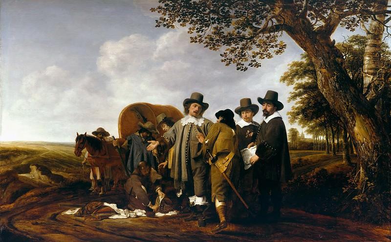 Simon Kick (1603-1652) - Control Traveller. Part 4