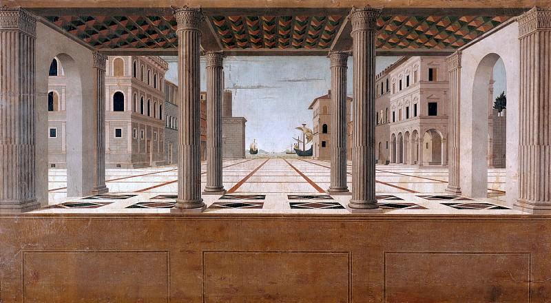 Francesco di Giorgio Martini (attr.) (1439–1502) - Architectural Veduta. Part 4
