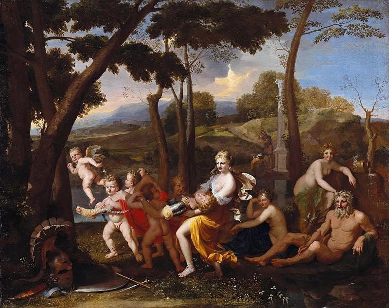 Nicolas Poussin (copy) - Rinaldo and Armida. Part 4