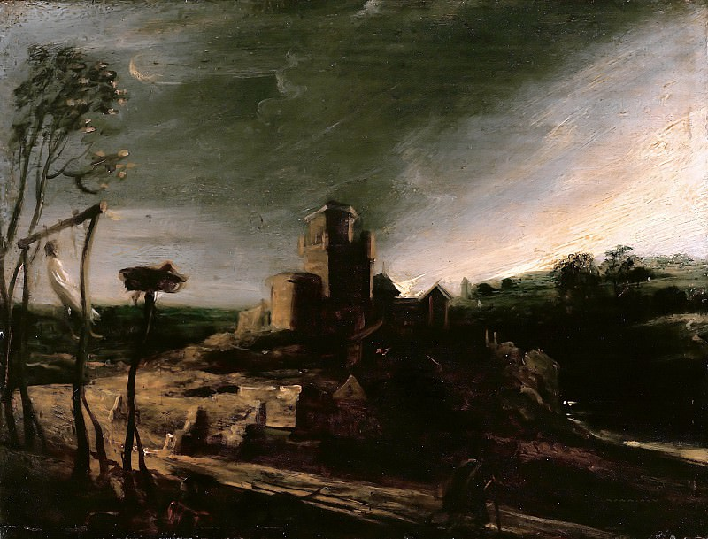 Peter Paul Rubens (1577-1640) - The landscape with the gallows. Part 4