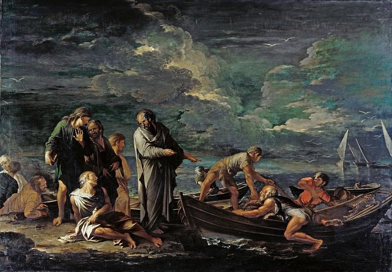 Salvator Rosa (1615-1673) - Pythagoras and the Fishermen. Part 4