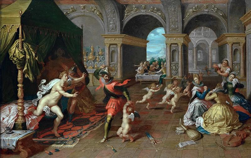 Вос, Симон де (1603-1676) - Наказание Амура. Часть 4