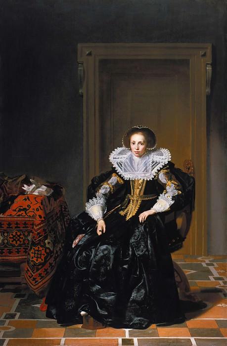 Кейсер, Томас де (1596-97-1667) - Портрет дамы. Часть 4