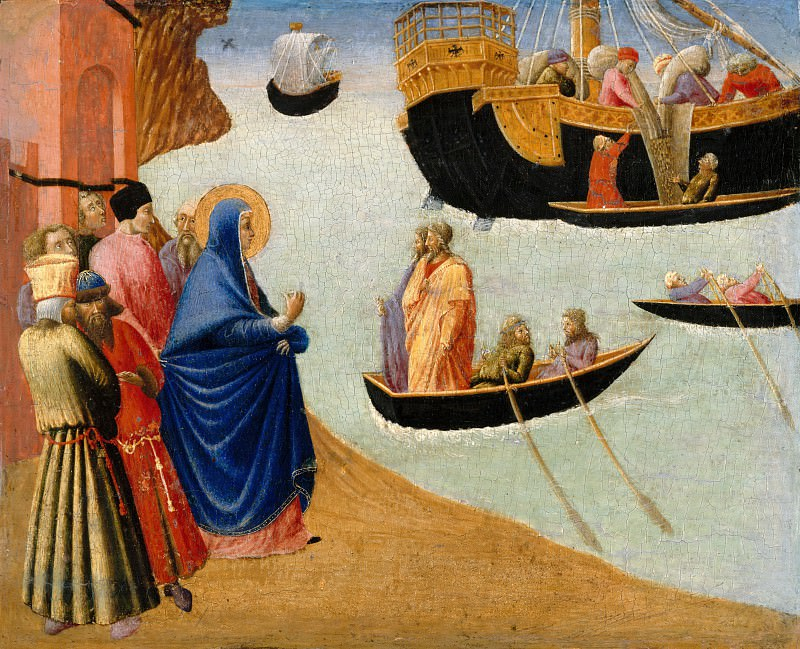 Pietro di Giovanni (c.1410-1449) - A Miracle of St. Augustine. Part 4