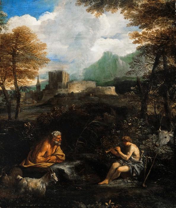 Мола, Пьер Франческо (1612-1666) - Меркурий и Аргус. Часть 4