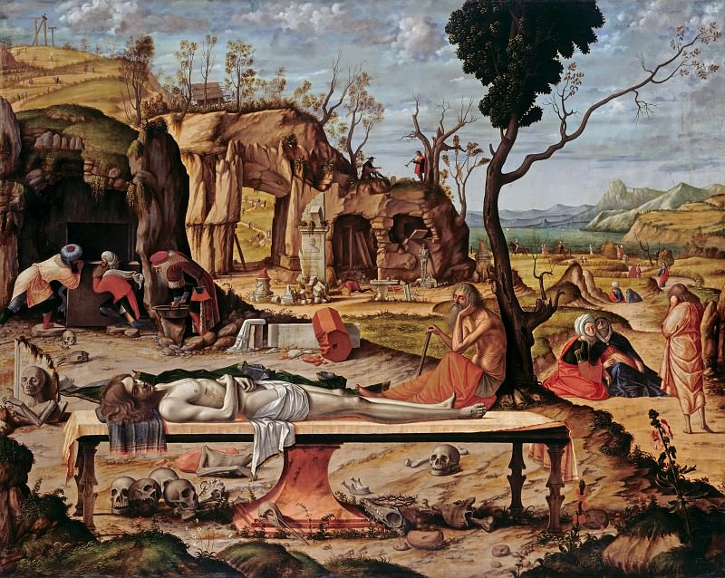 Vittore Carpaccio (c.1465-c.1525) - Lamentation. Part 4