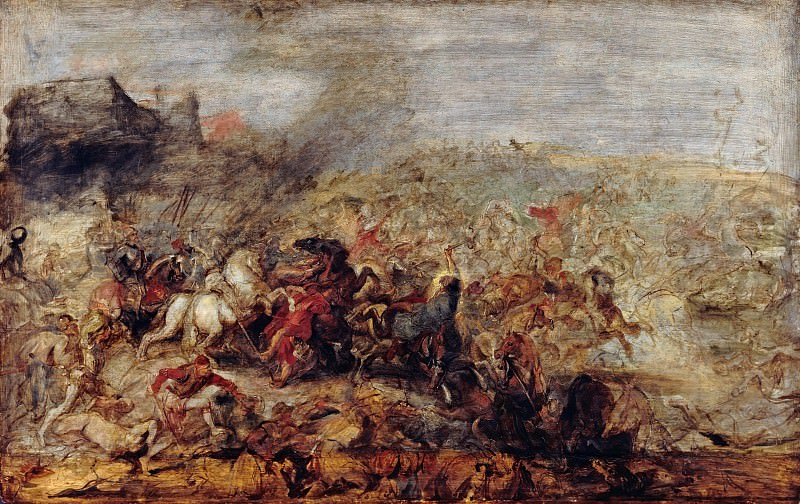 Peter Paul Rubens (1577-1640) - The Conquest of Tunis by Charles V (1535). Part 4