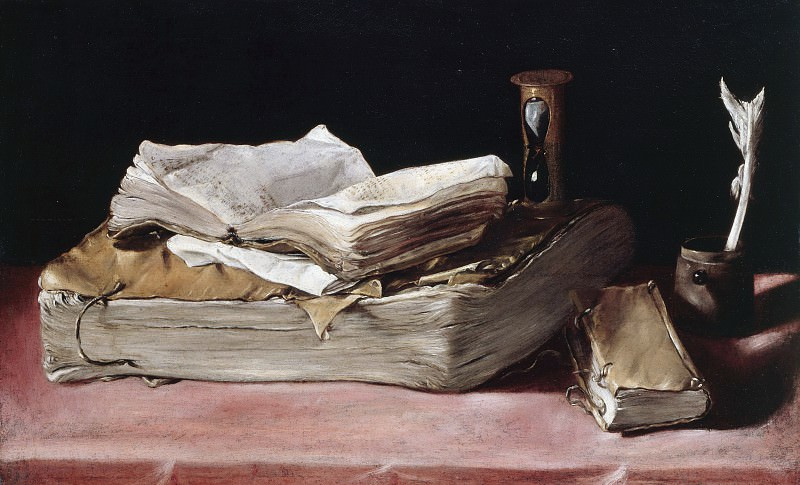 Spanien - Still Life with Books. Part 4