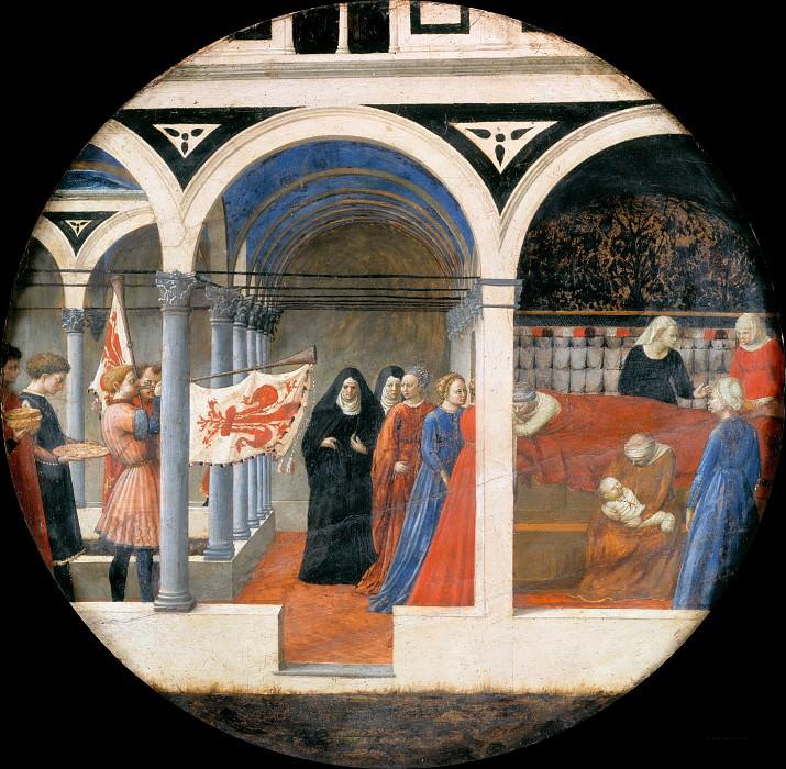 Tommaso Masaccio (1401-1428) - Nativity. Part 4