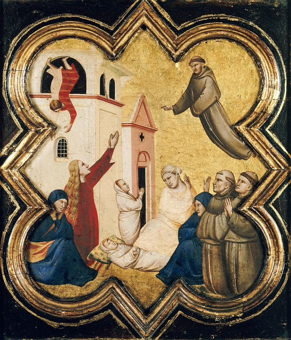 Taddeo Gaddi (1300-1366) - A miracle from the legend of St. Francis. Part 4