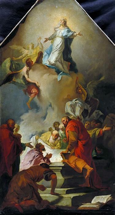 Martin Johann Schmidt (1718-1801) - The Assumption of the Virgin. Part 4