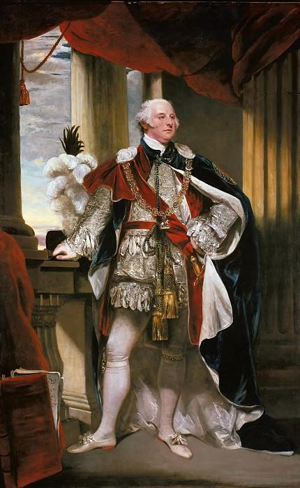 John Hoppner (1758-1810) - John Jeffrey Pratt as a Knight of the Garter. Part 4