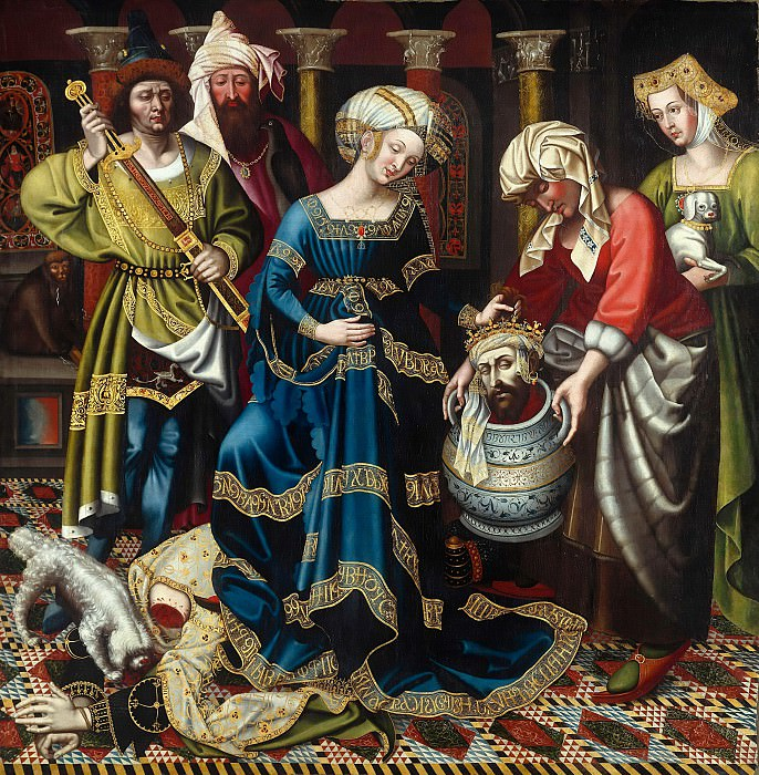 Robert Campin (c.1375-1444) - Revenge of the Tomyris. Part 4
