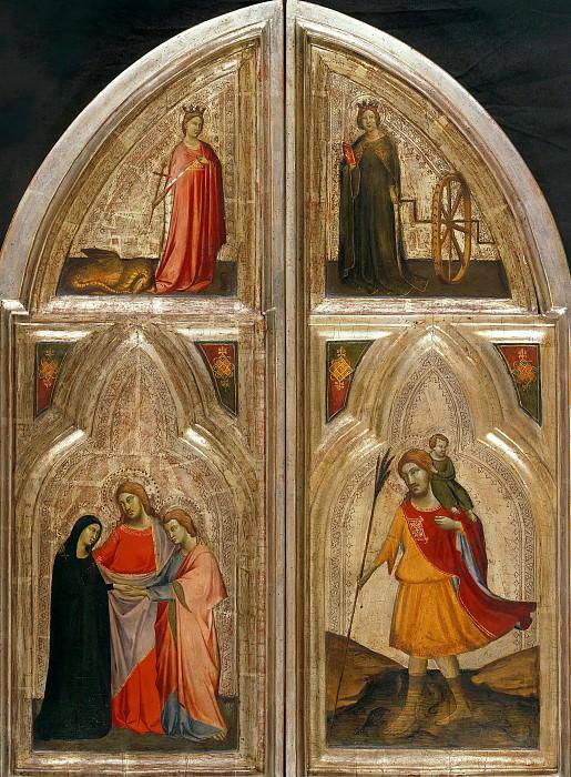 Taddeo Gaddi (1300-1366) - Triptychon. Part 4