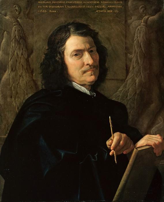 Nicolas Poussin (1594-1665) - Self-portrait. Part 4