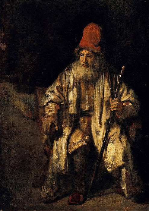 Rembrandt (1606-1669) - The old man with the red cap. Part 4