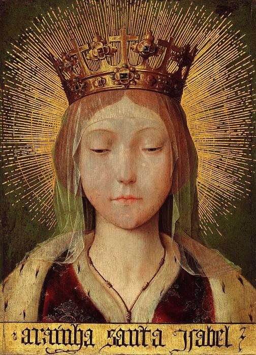 Массейс, Квентин (1466-1530) - Святая Елизавета Португальская. Часть 4
