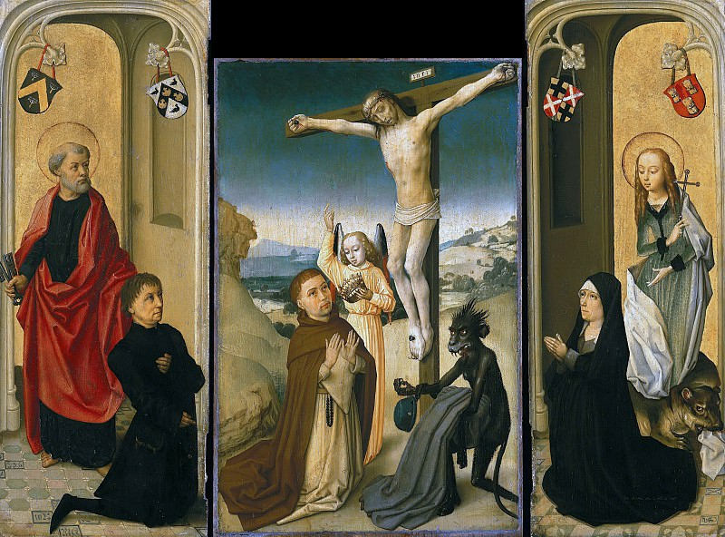 Netherlands - Triptych of Pieter van de Woestyn. Part 4
