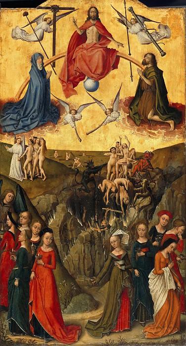 Vrancke van der Stockt (c.1420-1495) - Judgment Day. Part 4