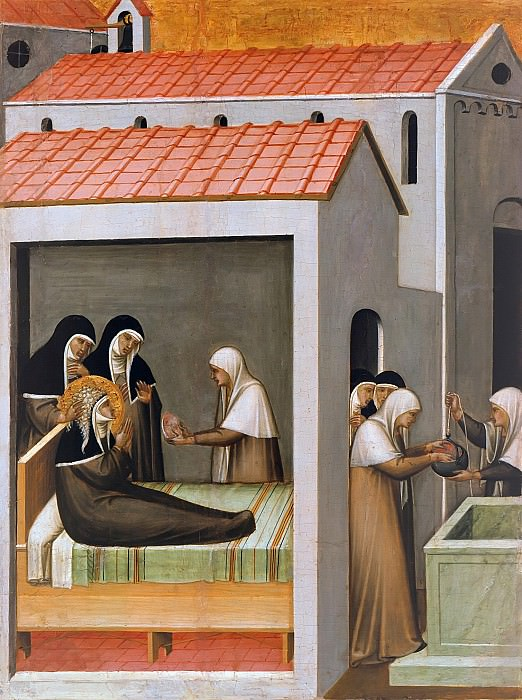 Pietro Lorenzetti (c.1280-1348) - The Miracle of the Ice. Part 4