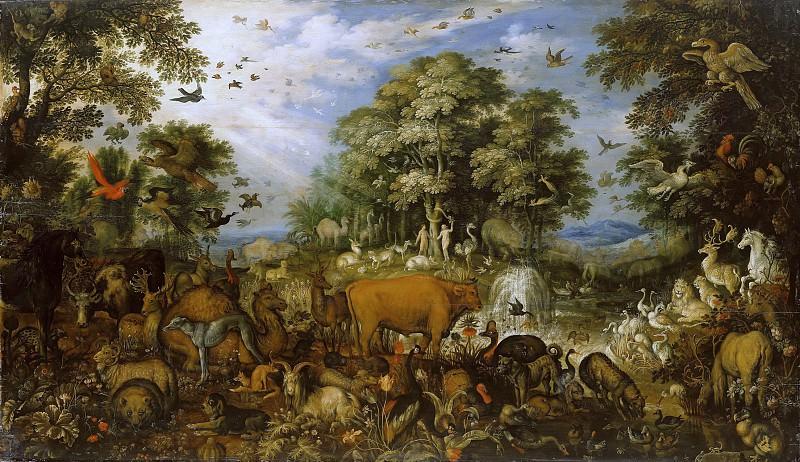 Roelant Savery (1576-1639) - Paradise. Part 4