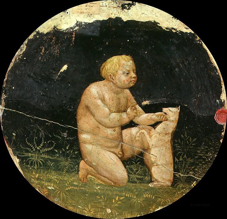 Tommaso Masaccio (1401-1428) - Putto and a Small Dog. Part 4