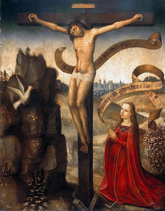 Netherlands - Diptych of Guilelmus Scultetus - Crucifix. Part 4