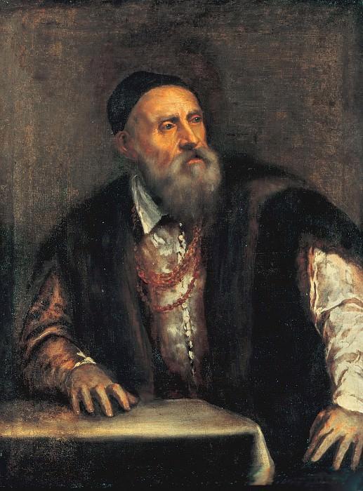 Tizian (1488-90-1576) - Self-portrait. Part 4