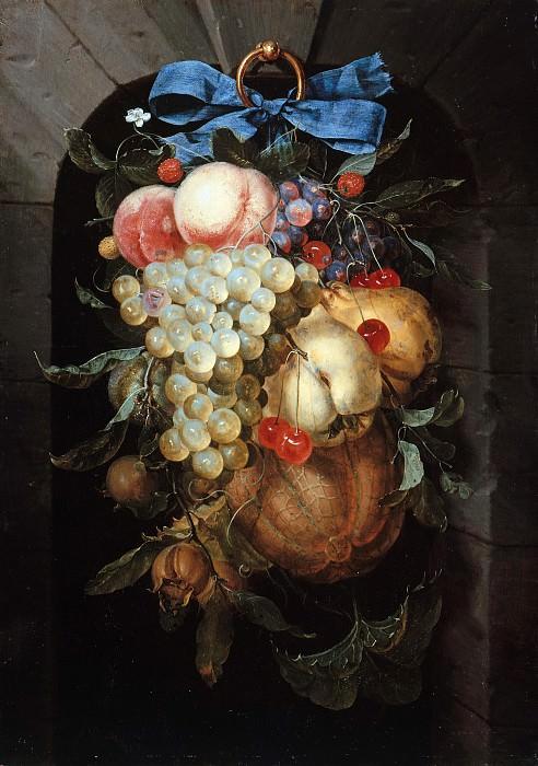 Nicolaes van Gelder (c.1636-1676) - Still Life with Fruit. Part 4