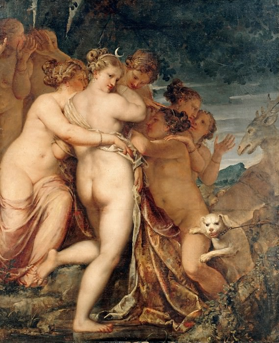 Либери, Пьетро (1614-1687) - Диана и Актеон. Часть 4
