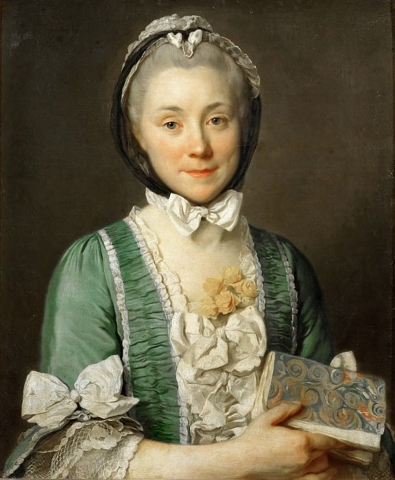 Joseph Siffred Duplessis -- Madame Lenoir. Part 4 Louvre