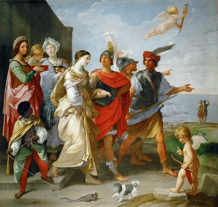Рени, Гвидо (1575 Кальвенцано - 1642 Болонья) -- Похищение Елены. часть 4 Лувр