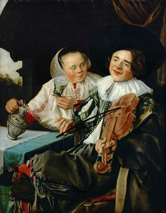 Judith Leyster -- Merry Company. Part 4 Louvre