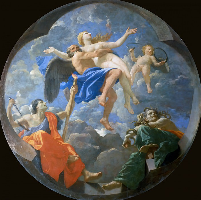 Nicolas Poussin -- Time and Truth. Part 4 Louvre