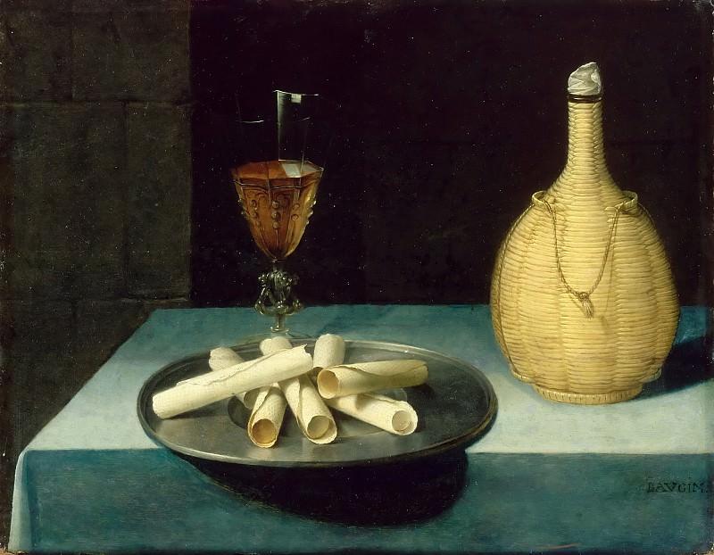 Божен, Любен (ок1610 Питивьер - 1663 Париж) -- Натюрморт с вафлями. часть 4 Лувр