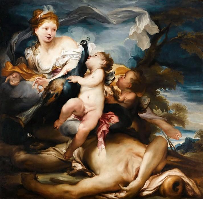Грегорио де Феррари (1647 Порто Маурицио - 1726 Генуя) -- Юнона и Аргус. часть 4 Лувр
